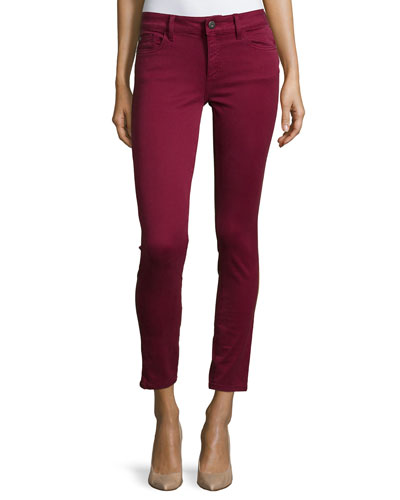 Margaux Ankle Skinny Jeans, Ruby
