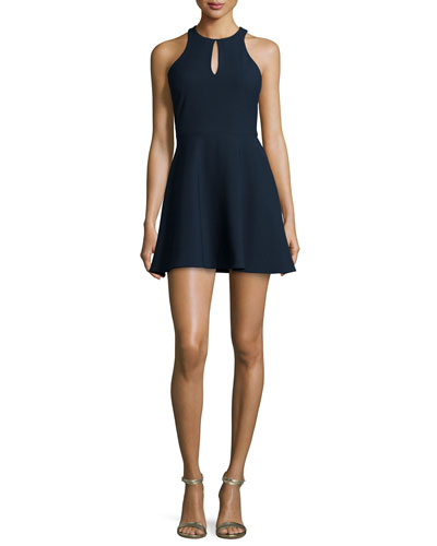 Scout Fit-&-Flare Dress, French Navy