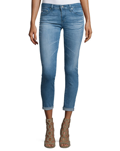 The Stilt Roll-Up Cropped Jeans, 15 Years Liberati