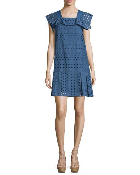 Cheap Sale Wiki Cheap Sale Latest Short dress See By Chloé nBfn5