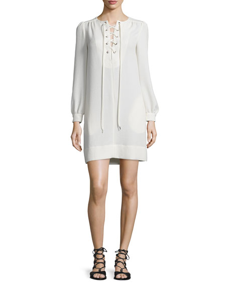 lace shift dress - White See By Chlo wjXVAiz