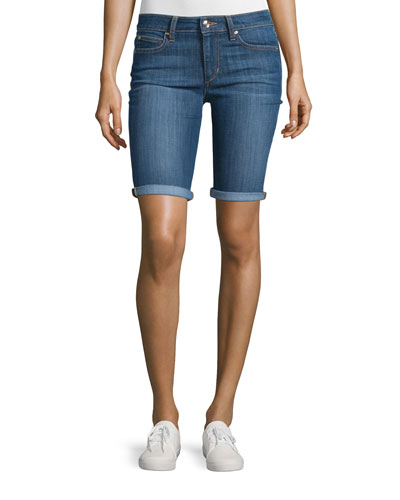 Easy Bermuda Denim Shorts, Kelsie