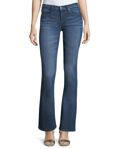 Becca Mid-Rise Boot-Cut Jeans