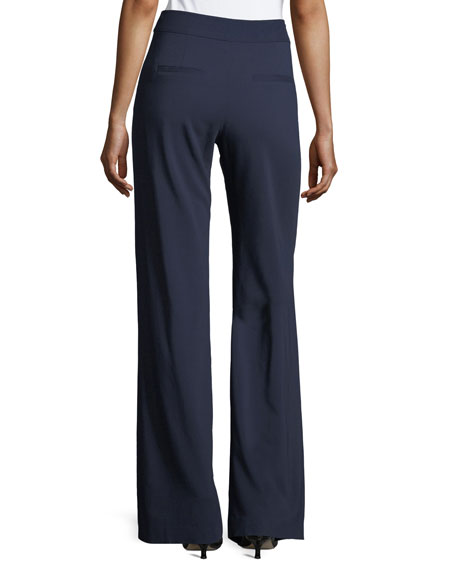 Adley Button-Detail Pants