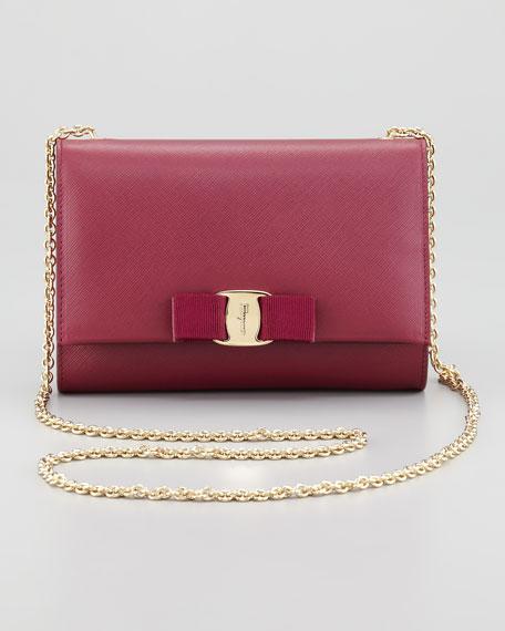 ab5effd71c0f Salvatore Ferragamo Miss Vara Mini Flap-Top Crossbody Bag