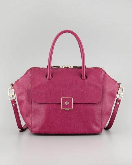 43d6368af39 Tory Burch Clara Leather Satchel Bag
