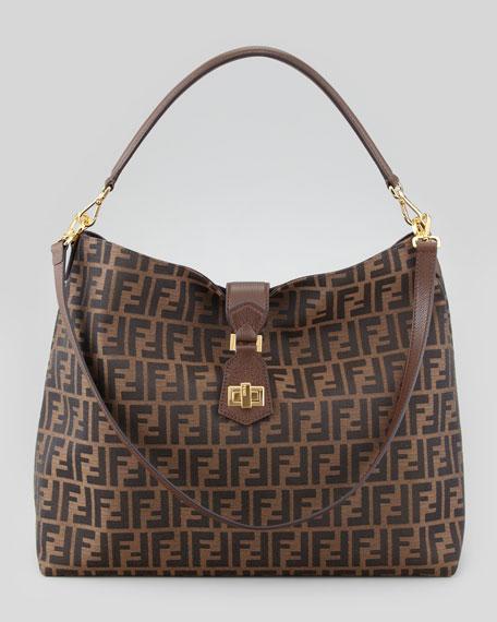 27ef10d856 ... store fendi zucca large hobo crossbody bag brown 6824e 281f5