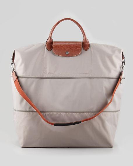 Le Pliage Expandable Travel Tote Bag Light Gray