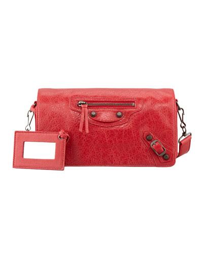 Classic Tool Kit Crossbody Bag, Rouge Cardinal