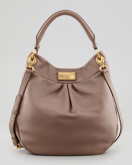Classic Q Hillier Hobo Bag Brown
