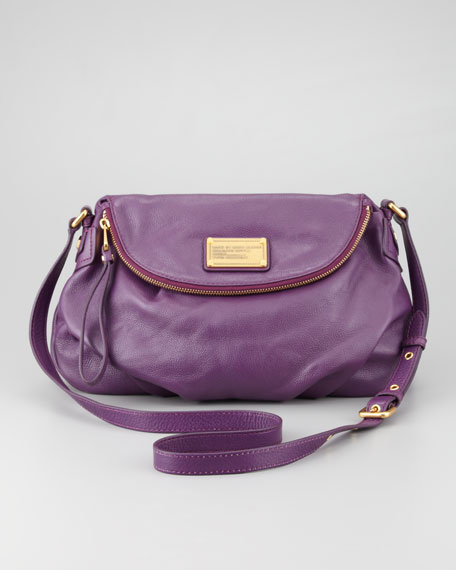 Classic Q Natasha Crossbody Bag Purple