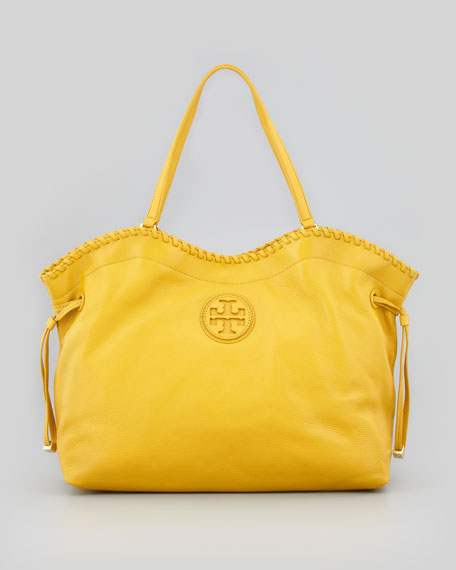 8ca9edc140 Tory Burch Marion East-West Slouchy Tote Bag, Yellow