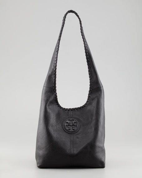3f7ef01108d Tory Burch Marion Whipstitched Hobo Bag
