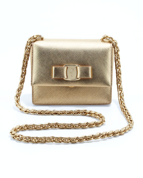 Salvatore Ferragamo Vara Flap-Top Ginny Crossbody Bag 0c68f277c5f52