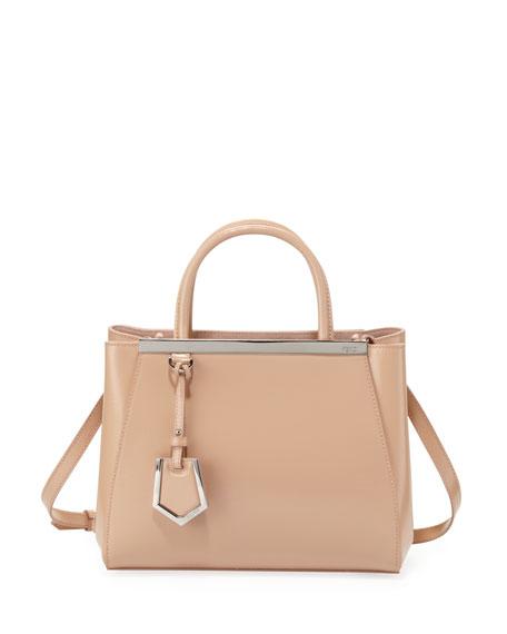 5be74bc335a6 Fendi 2Jours Mini Patent Shopping Tote Bag