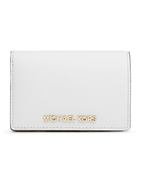 362cc2b36487 MICHAEL Michael Kors Medium Jet Set Travel Slim Wallet