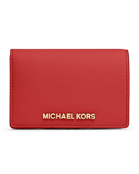 564f70e433ef MICHAEL Michael Kors Medium Jet Set Travel Slim Wallet