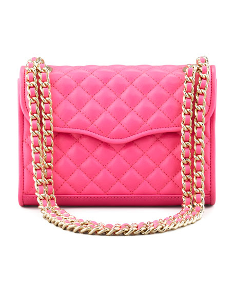 Quilted Affair Mini Shoulder Bag Neon Pink