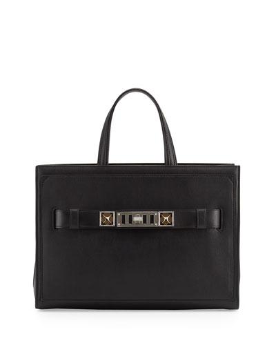 PS11 Zip Tote Bag, Black