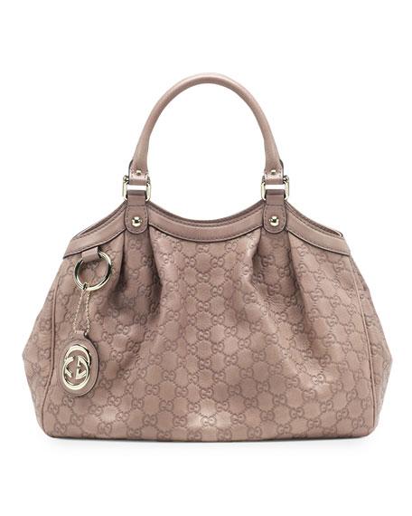 6345542d1d34 Gucci Sukey Medium Guccissima Leather Tote, Nude