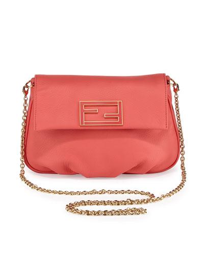 Fendista Pochette Crossbody Bag, Pink