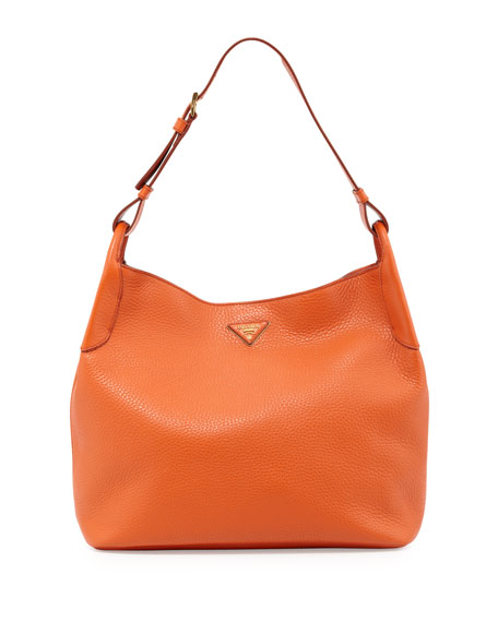 699762f740f7 Prada Vitello Daino Hobo Bag