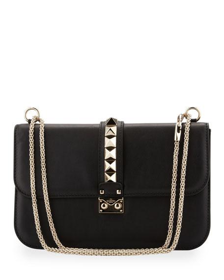 47ab7de19f5b Valentino Rockstud Medium Flap Bag