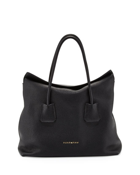 Burberry Grained Top-Handle Tote Bag 4bc65338c3665
