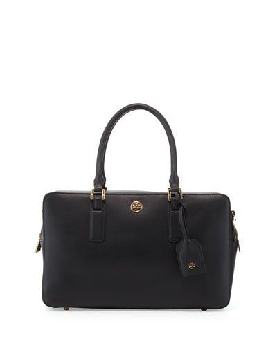 Robinson Square Satchel Bag, Black