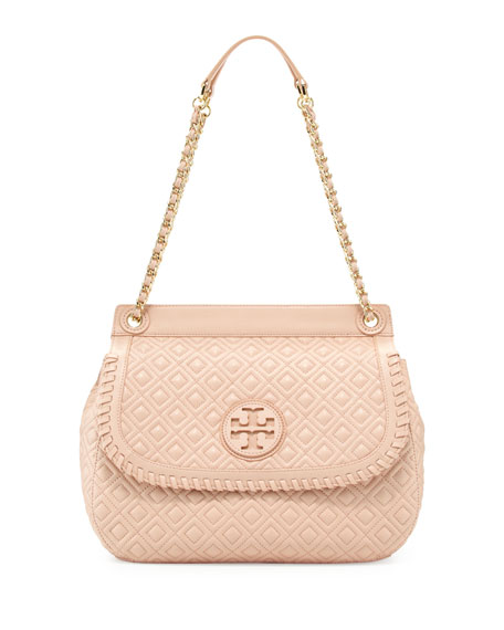 Tory Burch Marion Quilted Leather Saddle Bag e5a59755f8179