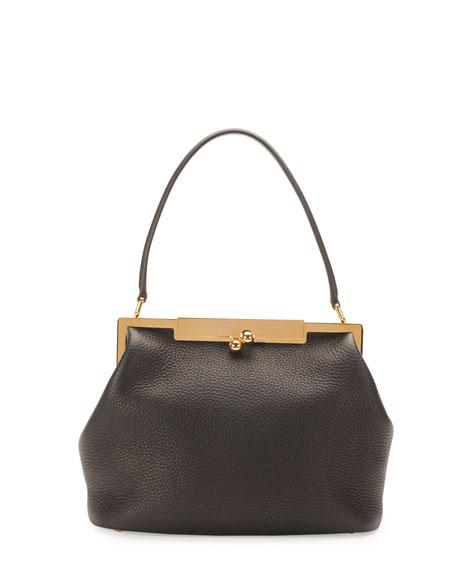 Dolce   Gabbana Sara Pebbled Frame Shoulder Bag b050d16dc6080