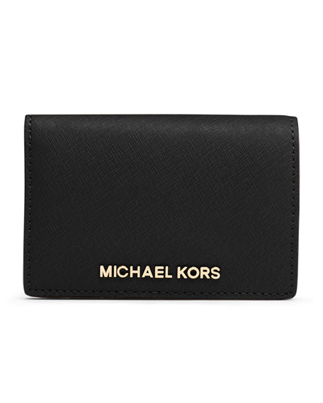 b8851186d23e65 Roll on to zoom Medium Jet Set Travel Slim Wallet Michael Kors Medium Jet  Set Travel Slim Wallet ...