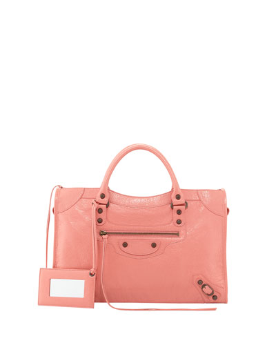 Classic City Bag, Pink