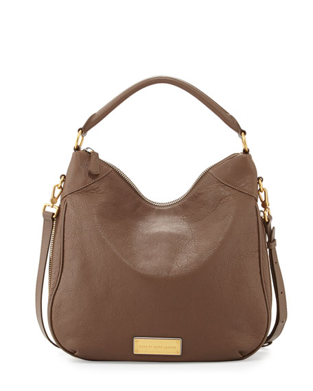 477510e1b0c MARC by Marc Jacobs Washed Up Billy Hobo Bag, Brown Earth
