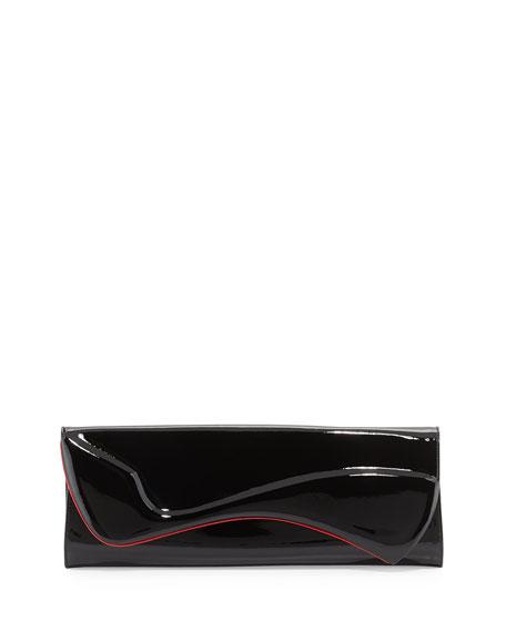 f03c02ff85b Pigalle Patent Clutch Bag Black