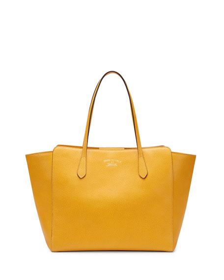 Gucci Gucci Swing Leather Tote Bag