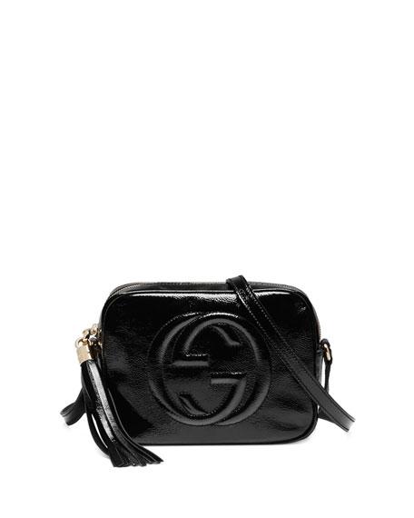 9a57e875e20 Gucci Soho Patent Leather Disco Bag