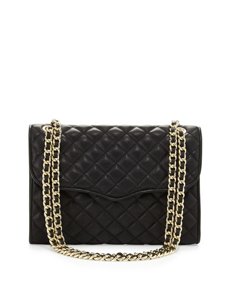 preview of shop best sellers best value Rebecca Minkoff Quilted Affair Shoulder Bag, Black