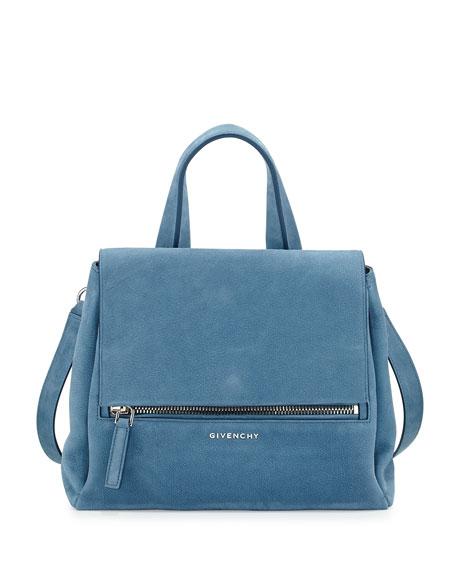 dc1307040a Givenchy Pandora Pure Small Nubuck Satchel Bag