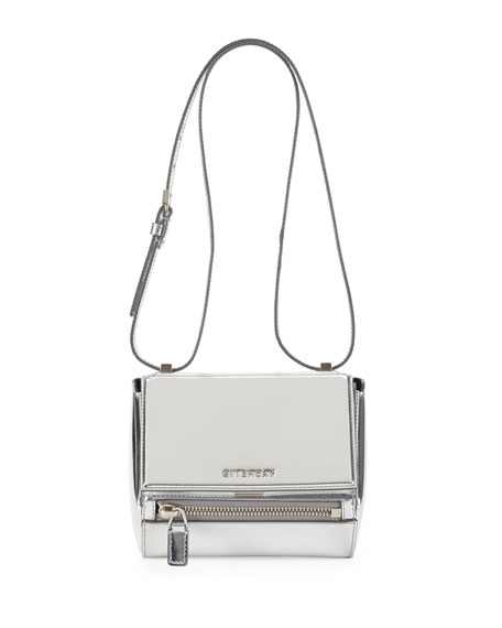97e46fc7c390 Givenchy Pandora Small Leather Satchel Bag