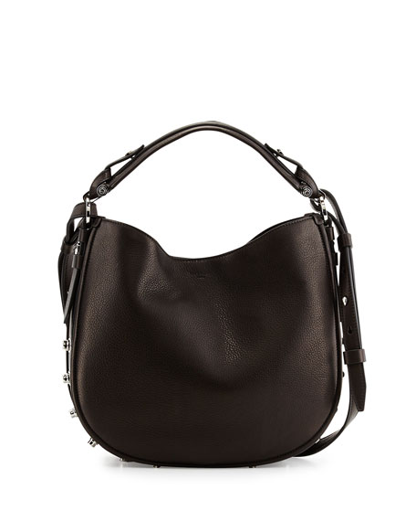 885384c4a7d Givenchy Obsedia Small Leather Hobo Bag