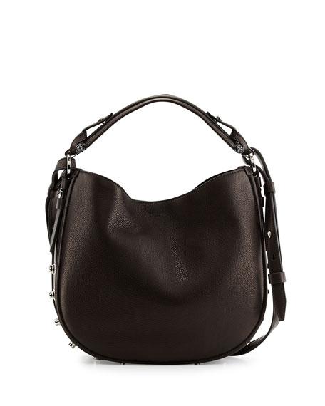 9773b900dfda Givenchy Obsedia Small Leather Hobo Bag