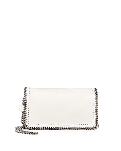Falabella Crossbody Bag, White