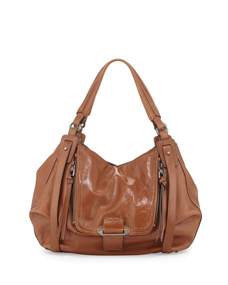 6720ea701 Kooba Jonnie Leather Hobo Bag, Earth
