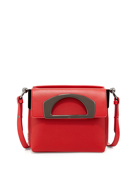f6b3c0c06a5 Mini Passage Leather Crossbody Bag Red