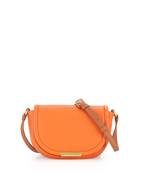 69206583ea7 MARC by Marc Jacobs Softy Saddle Crossbody Bag, Spiced Orange