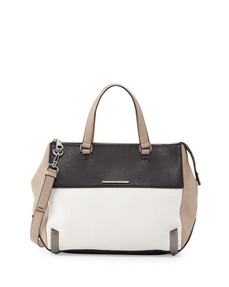 9ceff2262c94 MARC by Marc Jacobs Shelter Island Colorblock Leather Satchel Bag