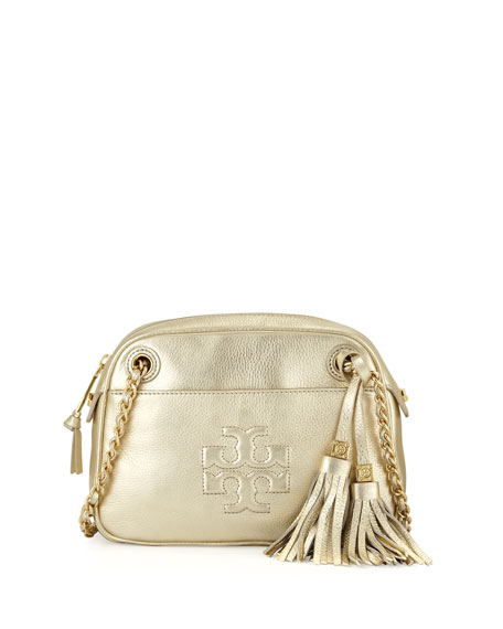 232f202418bf Tory Burch Thea Pebbled Crossbody Bag