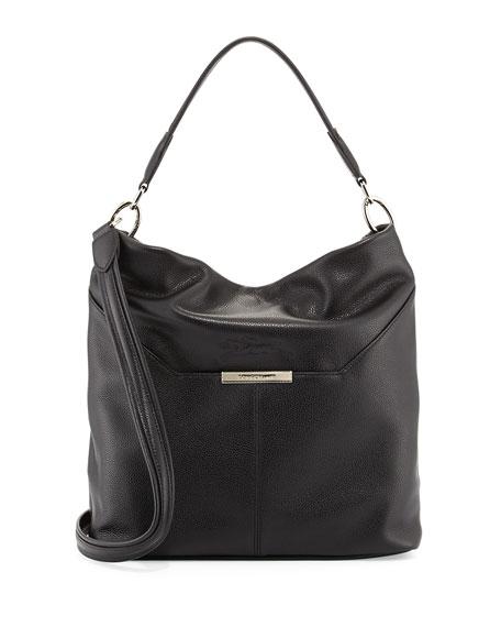 30976403c56c Longchamp Le Foulonne Leather Hobo Bag