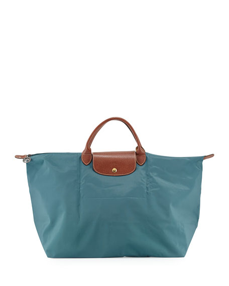 f72b2bbe74 Longchamp Le Pliage Travel Tote Bag, Mint
